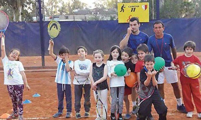 tenis infantil